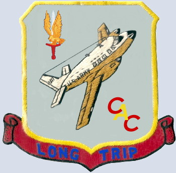 Command Aircraft Company (CAC) Patch, courtesy of John Moore/Dave Barlow, digitized by Don Ricks